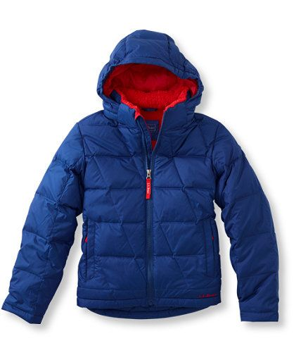 Boys' Bean's Fleece-Lined Down Jacket: Jackets and Parkas | Free Shipping at L.L.Bean