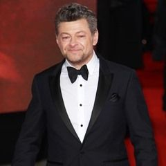 Andy Serkis attends the Star Wars: The Last Jedi European Premiere