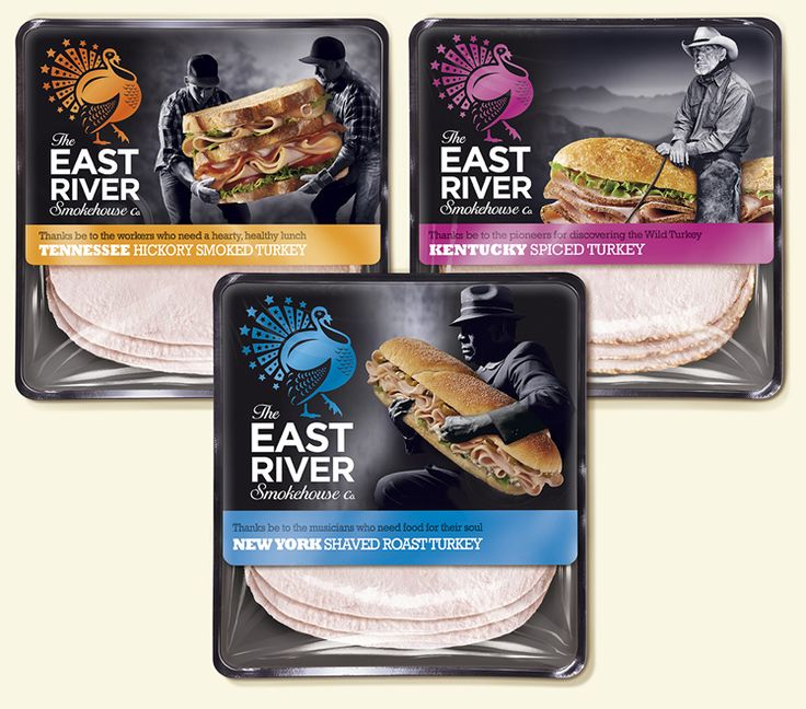 East River Smokehouse Co.'s meat packaging