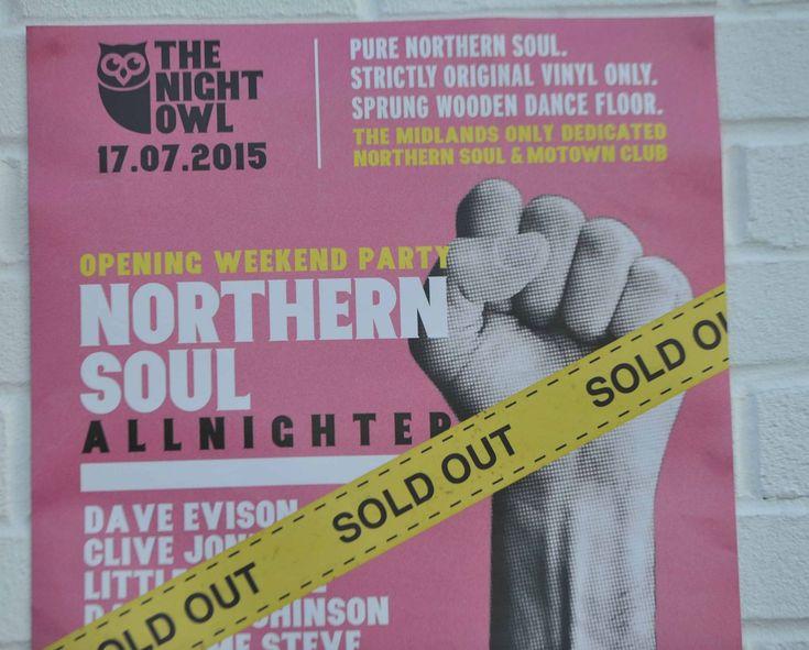 Northern Soul Club The Night Owl, in Lower Trinity Street, Digbeth. #NorthernSoul #SoulMusic