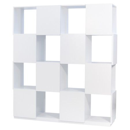 Branch Bookcase in Pure White