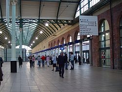 Hull Paragon Interchange - the railway station is looking very smart these days