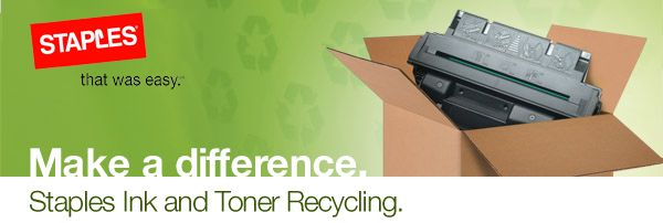 http://www.staplesadvantage.ca/staples-soul/environmental/working-together/recycling-programs.page?lang=en can generate postpaid label for toner recycling