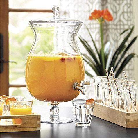 Vittoria Glass Beverage Dispenser