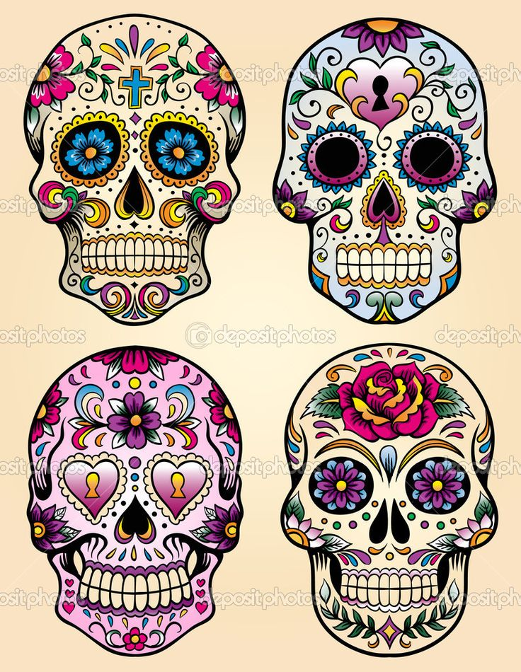 calavera mexicana - Google Search                                                                                                                                                     Más