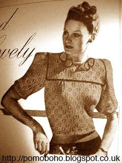 1940's Knitting - Light and Lovely