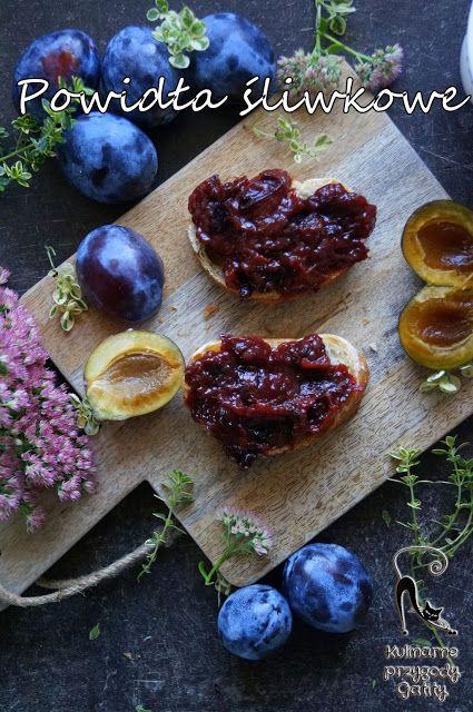 Kulinarne przygody Gatity: Powidła śliwkowe z piekarnika bez cukru