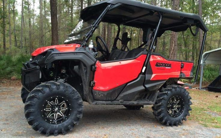 "2016 Honda Pioneer 1000-5 Lifted with 30"" Tires & Wheels ..."