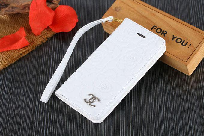 Chanel Samsung Galxy S7 Edge Covers Wallet White Sleeve Coque Fundas Capa Para