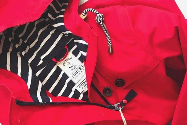 RED IS THE COLOUR FOR WINTER | JOULES COAT