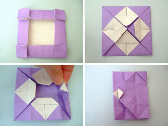 A fleet of origami love boats ⇆ bloomize