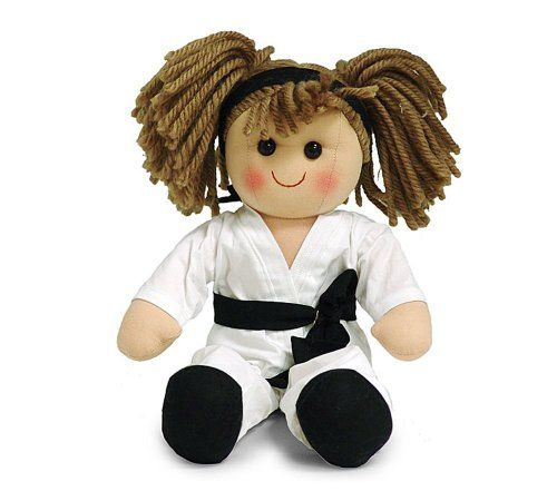 Ninja Toys For Girls : Karate girl quot plush doll baby adorable toy for kids