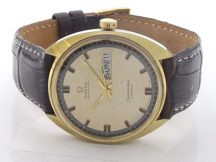 VINTAGE OMEGA SEAMASTER COSMIC AUTOMATIC SWISS MENS WATCH CAL#752