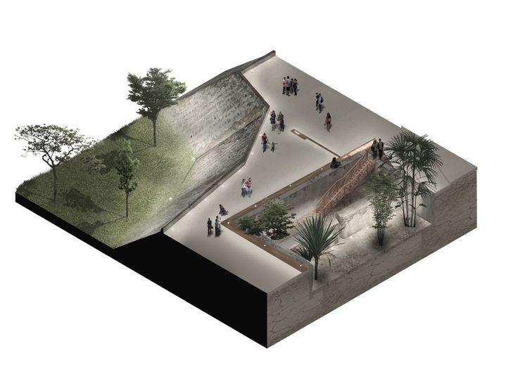 Galería de Este es el diseño de Colectivo720 + De Arquitectura y Paisaje que iluminará castillo en Cartagena - 22