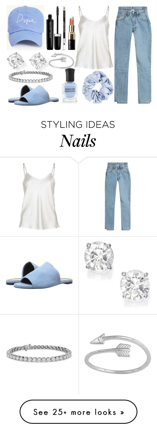 """ME"" by ellelovesfashion07 on Polyvore featuring Boohoo, Bobbi Brown Cosmetics, The Body Shop, Vetements, Robert Clergerie, Marc Jacobs, Deborah Lippmann, Blue Nile and Midsummer Star"