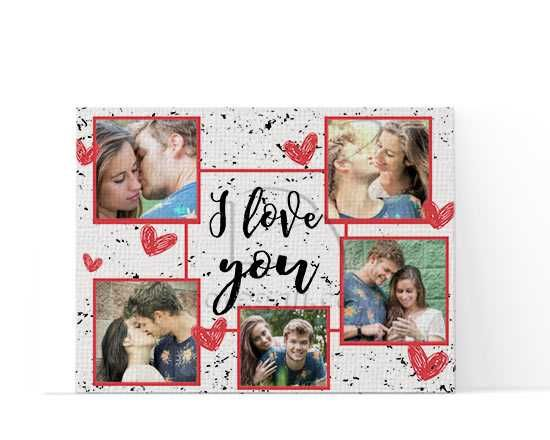 Foto Collage I love you too