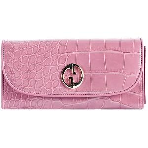 Gucci Crocodile Continental Wallet