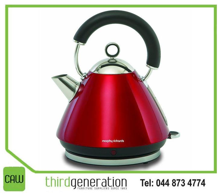Add a splash of awesome colour to your kitchen with this #Morphy #Richads kettle, available at #CAWThirdGeneration