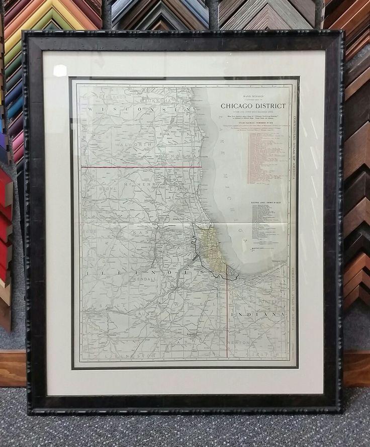 Mejores 7 imágenes de Framed maps en Pinterest | Mapas enmarcados ...