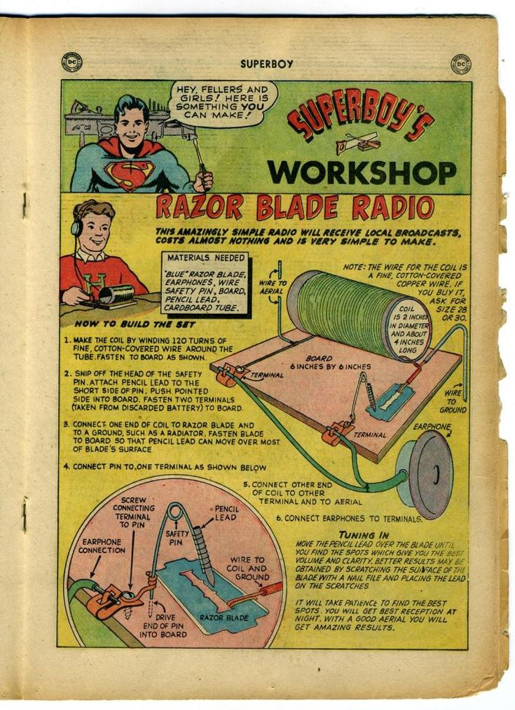 Foxhole Radios and Marlin Razor Blades - EPHEMERA & PHOTOGRAPHS - U.S. Militaria Forum