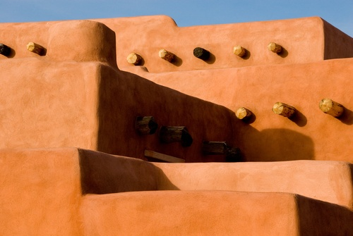 architecture - adobe... rounded edges... warmth... rustic