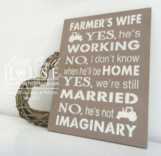 Farmer's Wife Quote