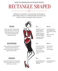 How to Dress Your Body Shape ... All shapes on here in detail so you can find yours!