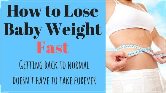 Losing your baby weight can be one of the biggest struggles we face as new moms, but you can get your body back and it doesn't have to take years.