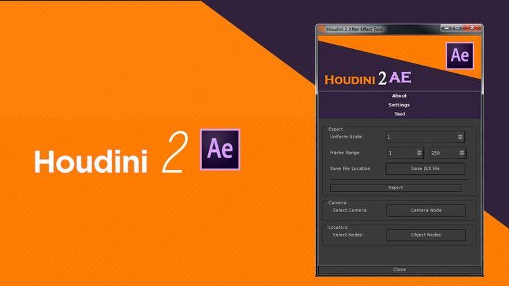 Houdini 2 AE - Free Python Tool on Vimeo