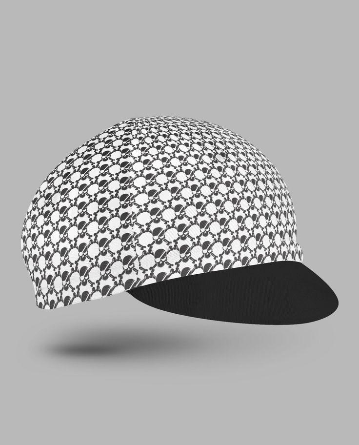 Jolly roger cycling cap