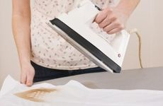 Fix your iron with a homemade cleaning solution.