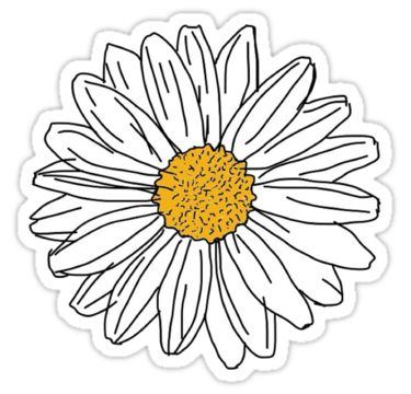 a pretty daisy, just like you! xo • Also buy this artwork on stickers, apparel, kids clothes, and more.