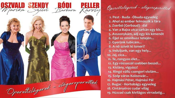 Peller Károly: Operettslágerek / Slágeroperettek (teljes album) - 2017.