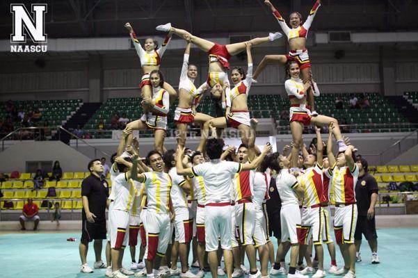Easy Cheer Stunts Pyramids St.