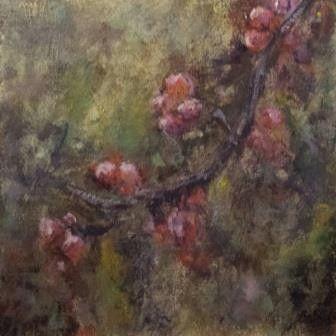 Acryl op paneel, 16 x 16 cm