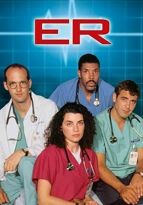 ER (1994) This long-running hospital series introduced viewers to the traumas and dramas of Chicago's County General, where the emergency room doctors and staff are confronted daily with personal challenges, ethical dilemmas and life-or-death decisions. Created by bestselling novelist (and former medical student) Michael Crichton, the award-winning show cemented George Clooney's career with his smoldering turn as Dr. Doug Ross.