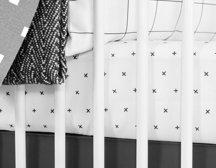 olli lime modern crib bedding modern black white nursery bedding nordic