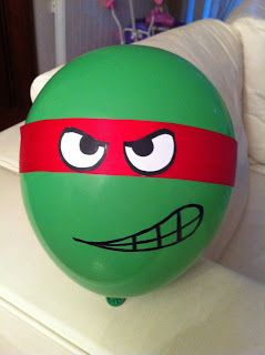 milleideeperunafesta: Tartarughe Ninja: come decorare con i palloncini