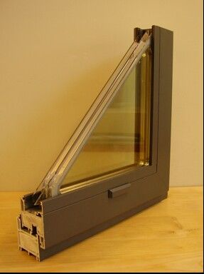 Cascadia fiberglass windows and doors. Can be altered by basalt fiber composite.