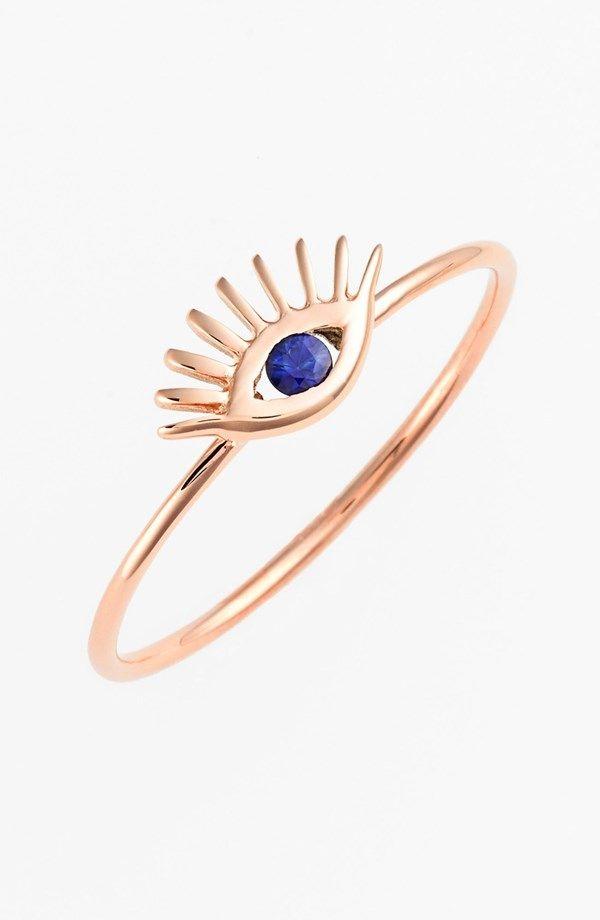 Evil Eye Ring  #laidback