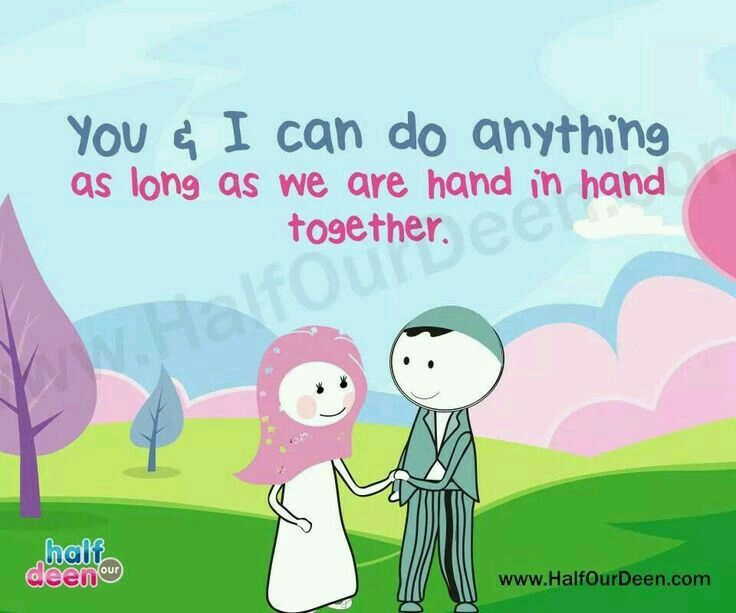 Just hold my hand :)