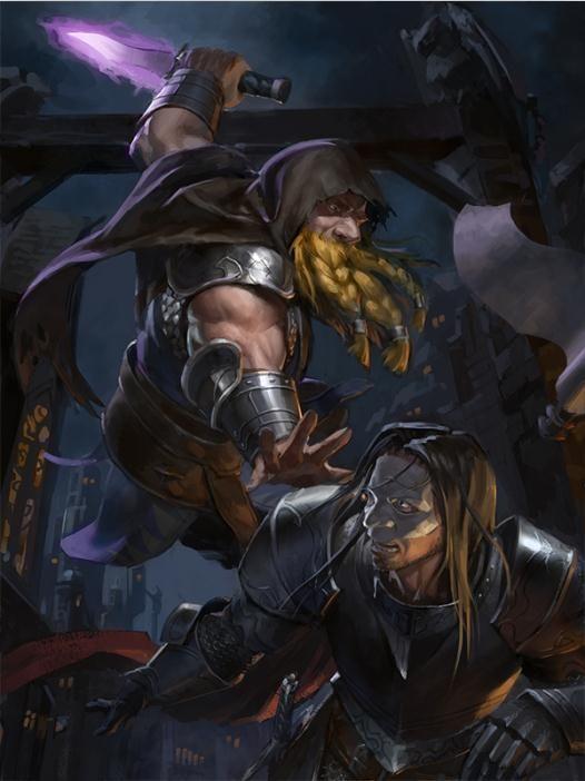 Dwarven assassin by Dreamcatcher-art