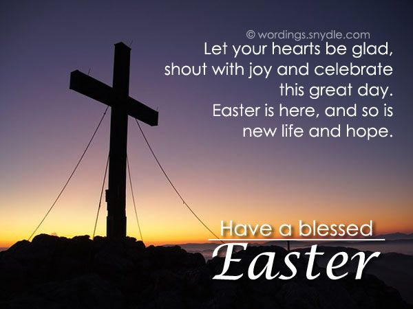 religious easter messages and christian easter wishes