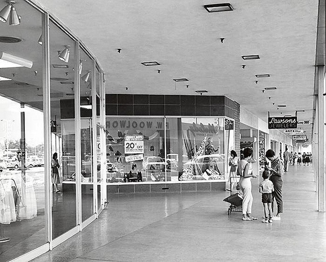 J C PENNEY - WEST COVINA PLAZA - 1967  Also Newberrys (five and dime) use to go with grandma and Aunt Louise