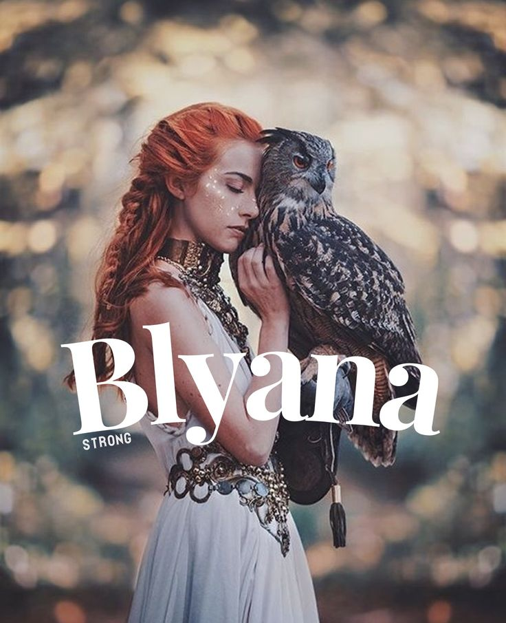 Blyana, Meaning strong, Irish names,