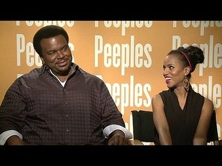 """Peeples: Exclusive: Craig Robinson and Kerry Washington -- We go one-on-one with actors Craig Robinson and Kerry Washington to talk about their roles in """"Peeples"""". -- http://wtch.it/2YsZ8"""