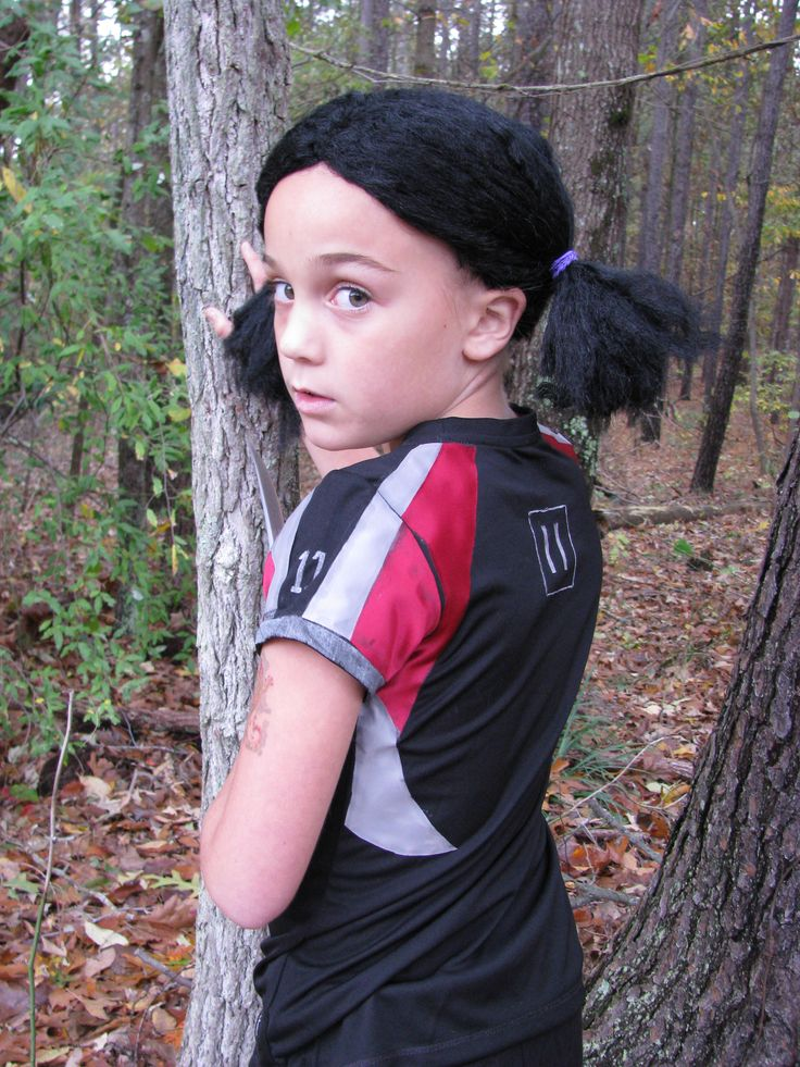 Homemade Rue costume from Hunger Games... (With images