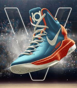 Nike KD 5. Kevin Durant Basketball Shoe. Nike.com