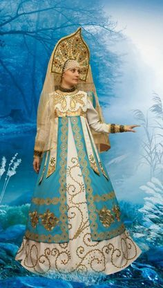 новогодние костюмы для девочек в русском стиле - Поиск в Google