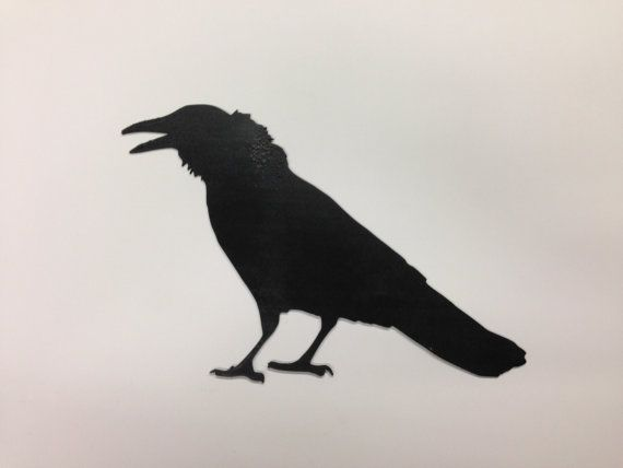 Wooden Crow  Reclaimed lumber Project  Raven by Base9Designs, $17.00